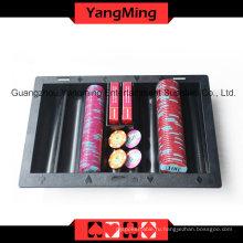 Черный пластиковый покерный чип Float (YM-CT06)