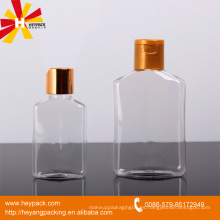 Envase de plástico transparente de PET de 300 ml con tapa