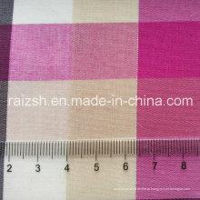 Stretch algodão fio-tingida xadrez camisa T / C tecido pode ser personalizado