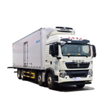 High quality Howo Refrigerated trucks perishable food delivery to Africa