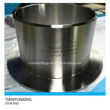 ASTM A403 Extremidade de topo de aço inoxidável sem costura