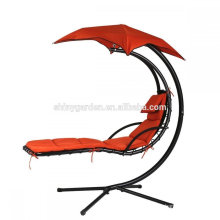 Patio Adult Swings Tube Dia 60mm Arc Stand Hanging Chaise Lounger Chair,Hammock Chair Canopy