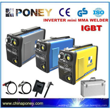 CE approved small Inverter IGBT DC electrode welder portable welding machine