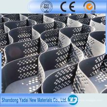 Stabilisateur de gravier en plastique de haute qualité / géocellule de sol
