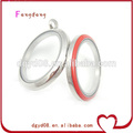 12 kinds color fashion Stainless Steel floating charms locket/locket pendant