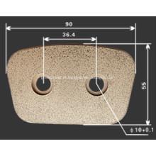 Botão de embreagem de cobre