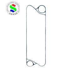 Heat exchanger plate v100 gasket in heat exchanger