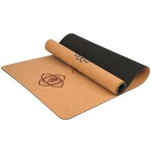 Yugland  Private Label Custom Eco Friendly Natural Organic Cork TPE Yoga Mat