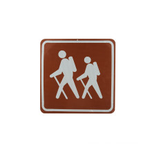 Pet/PVC Photo Luminescent Reflective Film for Safety Signs (FG301)