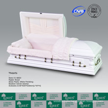 LUXES Oversize American Wooden Caskets Coffins For Funeral Cremation