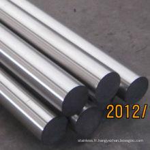 Arbre en acier inoxydable 316L