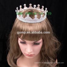 Mode Design Tiara Femmes Rhinestone Hair Crown