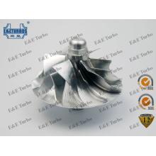 GT6041 Billet / MFS / Rueda de compresor de aluminio fresado Fit Turbo 701141