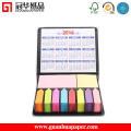 Logo Printed Wholesale Notepad with Calendar