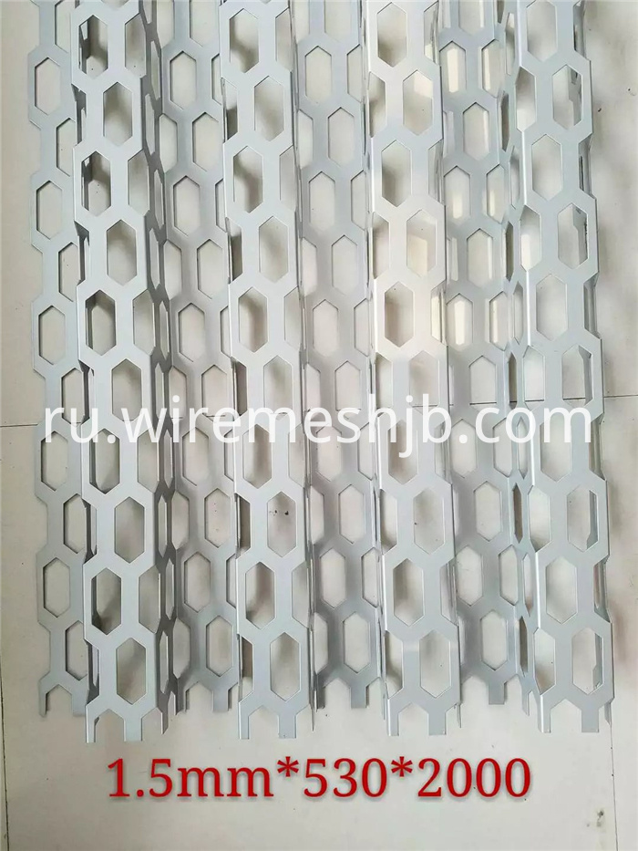 Galvanized Perforated Steel Sheets