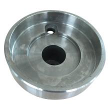 Hub de remorque d'acier inoxydable de moulage de précision d'OEM avec le polissage