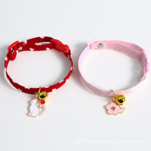 Cute Cat Candy Colored Necklace Pet Dog Collar