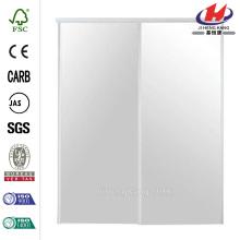 JHK-G01 demi-verre Insert mur cloison Aluminium profil porte en verre
