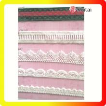 Quality for Garment Lace Fabric Summer girl chemical embroidery lace on 2018 export to Germany Wholesale