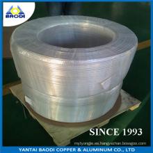 Tubo de aluminio de la bobina del tubo flexible de aluminio, tubo redondo de aluminio, utilizado para el acondicionador de aire, radiador, condensador