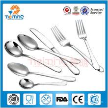 5-class hotel stainless steel elegant dinnerware sets