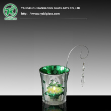 Glass Candle Votive (5X6X7CM)