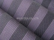 Ladies Fashion Yarn Dyed Twill Weave Stripe Span Apparel Cotton Nylon Fabric