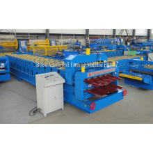 Galvanized roof tile double layer roll forming machine