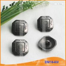 Botón de aleación de zinc y botón de metal y botón de costura de metal BM1646