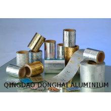 Píldoras embalaje de papel de aluminio