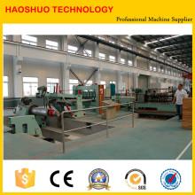 Станок для продольной резки рулонного стального листа и станок для резки листового металла