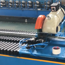 Rolo de tubo octogonal de metal perfurado dá forma à máquina