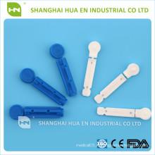 CE FDA ISO Утверждено сделано в Китае медицинский стерильный ланцет крови