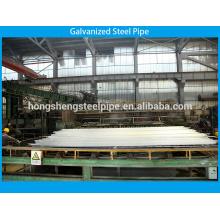 Tubo de aço galvanizado para água potável