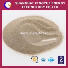 65% -66% ZrO2 areia de zircão com expansão térmica e alta condutividade térmica