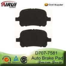 D707-7581 Brake Pad for TOYOTA AVALON SOLARA and LEXUS ES 300 SRX300