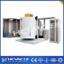 Máquina de revestimento plástica descartável da colher de prata / máquina plástica da metalização do vácuo das colheres