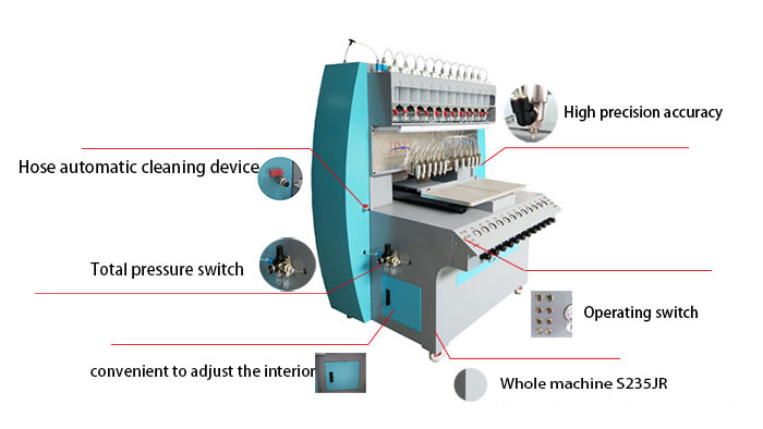 Pvc Usb Caster Injection Machine