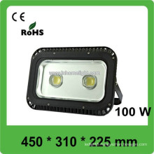 2015 high power super bright 100W 8500lm outdoor IP66 LED floodlight