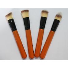 Ensemble de brosse à maquillage professionnel 4PCS en bois de qualité supérieure