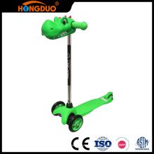 Stabile Qualität billige Kinder Fußpedal Roller Roller 3 Räder