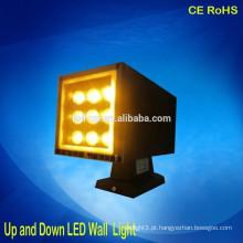 Luz de parede montada na parede interna acima e para baixo luzes de parede conduzidas com o projector conduzido 18w