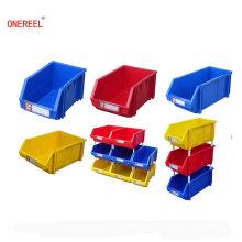 Fabricación apilable Caja de almacenamiento de plástico favorable