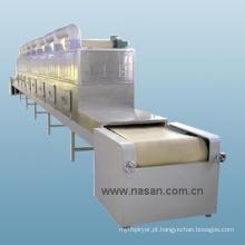 Equipamento para secagem de vegetais por micro-ondas Shanghai Nasan