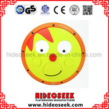 Round Wooden Play Silme Board on Wall