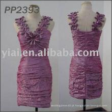 2011 Frete grátis de alta qualidade quente vendendo vestido de noite curto 2011 PP2393