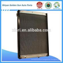 Radiador do caminhão de cobre D407 para Liuzhou Lngka