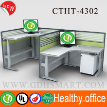 Healthy protection L feet electric height adjustable desk office furniture standing desk executive office desk