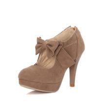 мода суде верхние бабочка высокой пятки обувь