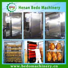 Chine usine approvisionnement industriel saucisse viande fumeur / viande machine à fumer / viande fumée four à vendre avec CE